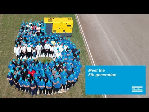 Mobile diesel generator QAS 5: The new gereration of Atlas Copcos QAS range - zdjęcie