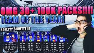 FIFA 16 TOTY PACK OPENING DEUTSCH  FIFA 16 ULTIMATE TEAM  HOLY SHIT 30+ 100K PACKS TOTY