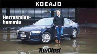 Koeajo: Audi A6 Sedan 45 TDI Quattro (2018) - Herrasmieshommia