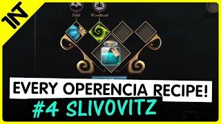Operencia: The Stolen Sun Slivovitz Recipe #4
