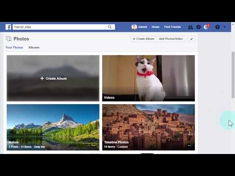 How To Make Your Photo Albums Private on Facebook - 2018