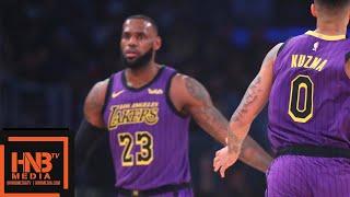 Los Angeles Lakers vs Portland Trail Blazers 1st Qtr Highlights | 11.14.2018, NBA Season