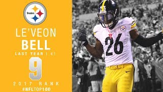 #9: Le'Veon Bell (RB, Steelers) | Top 100 Players of 2017 | NFL