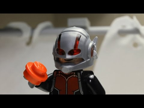 LEGO 重現《蟻人》預告!