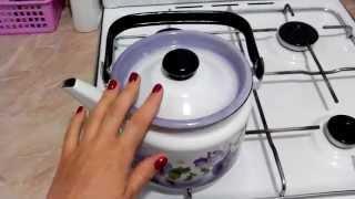Смотреть онлайн Лимонная кислота от накипи в обычном чайнике