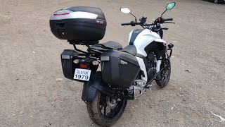 Yamaha FZ25  Wit Shad Panniers And Touring Setup By HDTcustoms