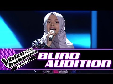 , title : 'Naura - Rise Up  | Blind Auditions | The Voice Kids Indonesia Season 3 GTV 2018'