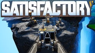 Satisfactory - Vehicle Transportation, Coal Mining & Building To New Worlds - Satisfactory Gameplay
