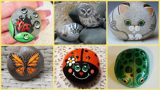 Best Animal Painted Rock Ideas Images | Stone Painting, Painted Rocks ...
