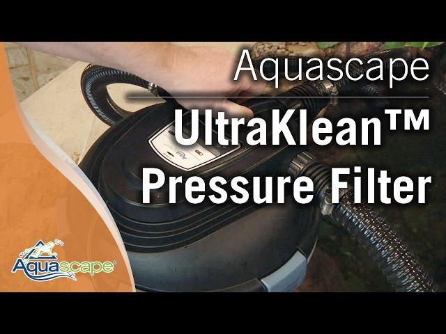 Aquascape's UltraKlean™ Pressure Filters