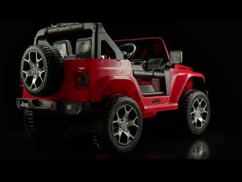 Джип  Jeep Wrangler DK-JWR 555 красный  на р/у