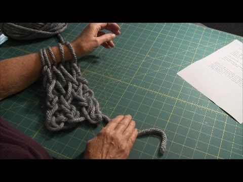 Arm Knitting - Cast On