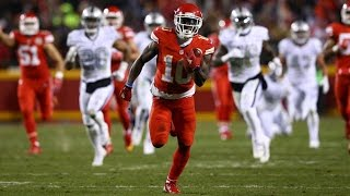 "Tyreek Hill. - ""Too Much Sauce"" Rookie Highlights"