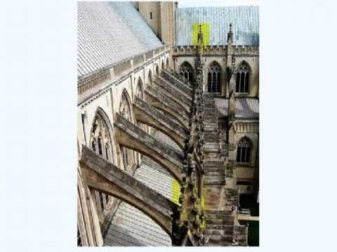 Arquitectura Gótica: Uso de arbotantes