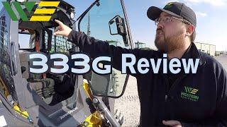 2018 John Deere 333G Skid Steer Walkaround Product Overview