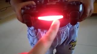 Red White PS4 Controller Light Problem Never Do This