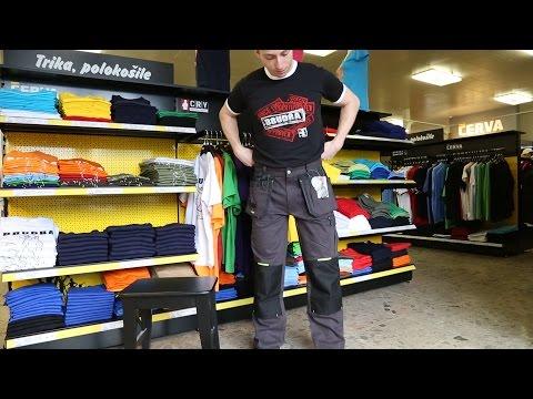 Kvalitní pracovní oděv nebo triko a tepláky? V čem stavíte Vy?
