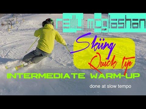 Reilly McGlashan  - Quick Tip - Intermediate Skiing Warmup