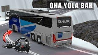 Dar Yolda Otobüsle Sollamaya Çıkmak !!