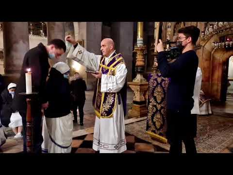 Ash Wednesday from the Holy Sepulchre | February 17, 2021