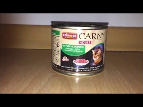 Animonda Carny Katzenfutter Test