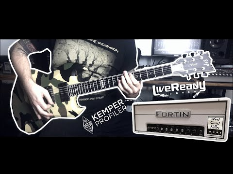 ESP Guitars Viper shootout with the Fortin Amplification Cali Kemper profile