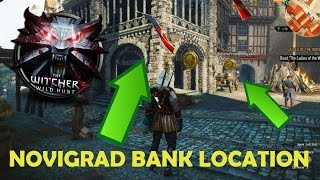 The Witcher 3  Bank Location in Novigrad! -Change Orens and Florens to Crowns