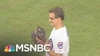 Would Chris Hayes Get 1 Hit In A Full Baseball Season? | All In | MSNBC