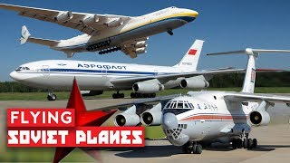 Flying on Unbelievable Russian and Soviet Planes