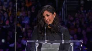 Vanessa Bryant Delivers Heartfelt Eulogy to Kobe Bryant