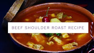 Beef Shoulder Roast Recipe using Grass Roots Farmers' Co-op | Jason Rosell