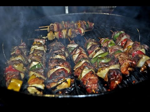 Como hacer Brochetas a la Cerveza / How to make skewers marinated in beer