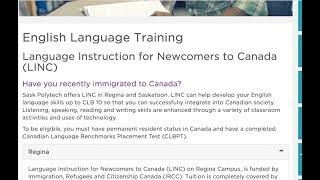 #61. LINC бесплатные курсы английского языка для новоприбывших в Канаде. Канада глазами украинца.
