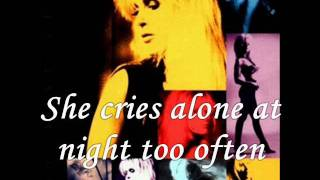 Lita Ford Only Women Bleed Lyrics