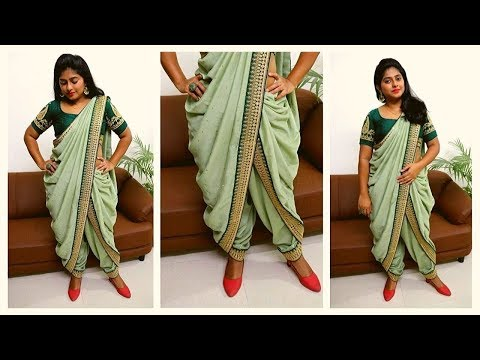 Navratri Garba Outfit - Dhoti Saree | Rashmi Ghag