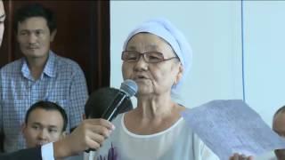 Мама Макса Бокаева на встрече Земельной комиссии 23.07.16 полное выступление
