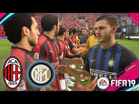 FIFA 19 | Inter vs AC Milan - Derby della Madonnina