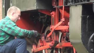 preview picture of video 'Parowóz Las 49 - 3343  Rudy   cz2'