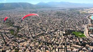 preview picture of video 'Pireus ( Piraeus, Athens from the air )'