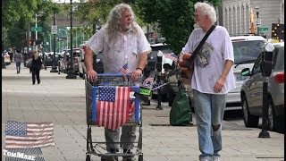 Homeless musicians put Florida Georgia Line to SHAME!