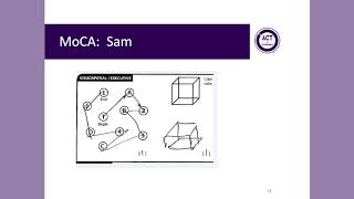 Montreal Cognitive Assessment (MoCA): Administration and Scoring
