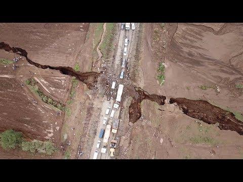 Βίντεο με το τεράστιο ρήγμα που φαίνεται να χωρίζει την Κένυα στα δύο