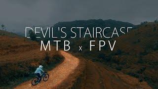 Devil's Staircase MTB x FPV ( OHIYA - SRI LANKA )