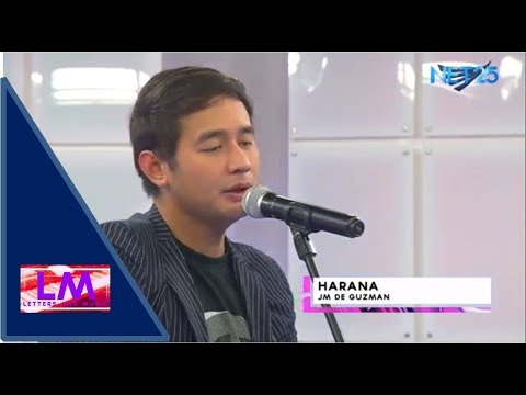 JM DE GUZMAN - HARANA (NET25 LETTERS AND MUSIC)