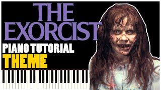 The Exorcist Theme (Piano Tutorial Synthesia)