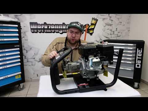 DeTec. 7 PS Benzin-Hochdruckreiniger mit 220 Bar - Anleitung