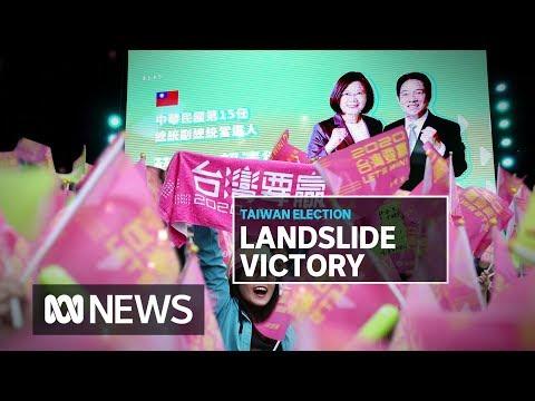 Taiwan's Tsai Ing-wen's landslide re-election a massive blow to Xi Jinping | ABC News