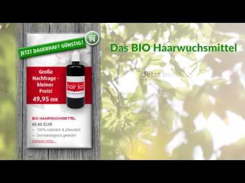 Des Vitamins je in den Balsam für das Haar beizumengen
