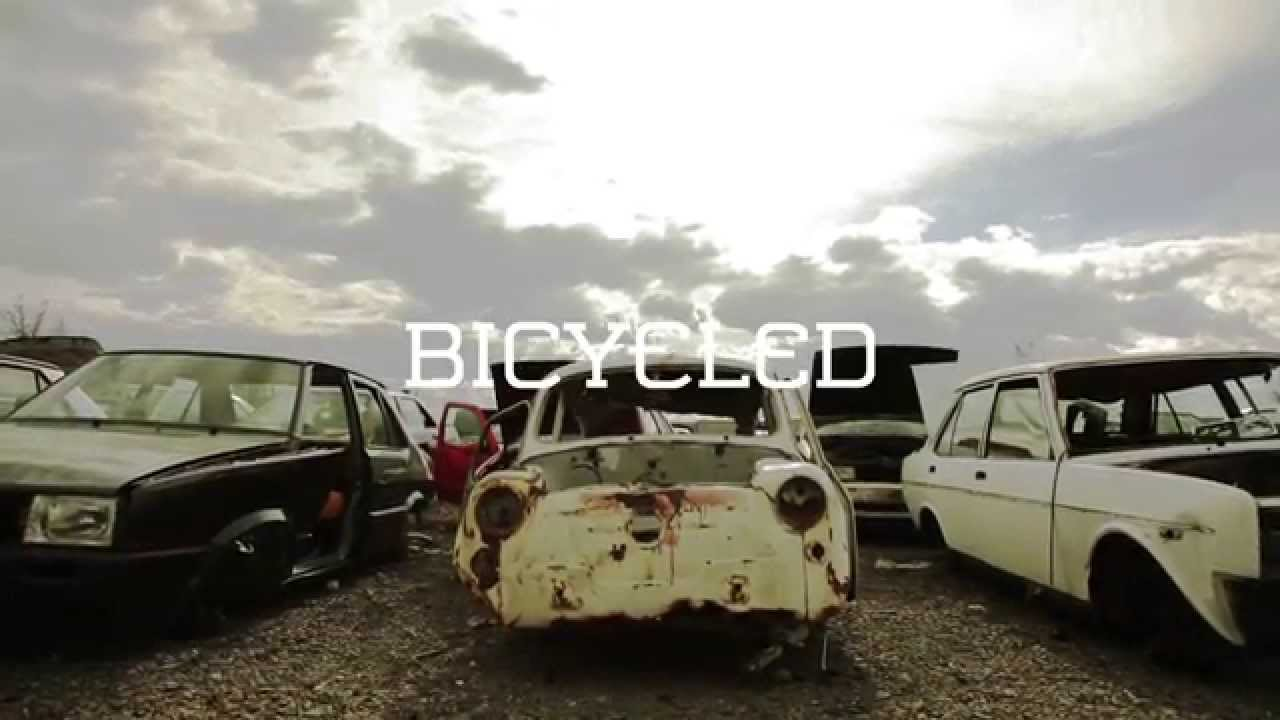 These Bicycles Made From Old Cars Are Gorgeous And Green