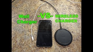 Mophie wireless charger: Speed Test